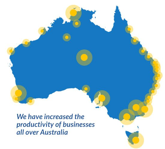 Increasing productivity for Australian businesses